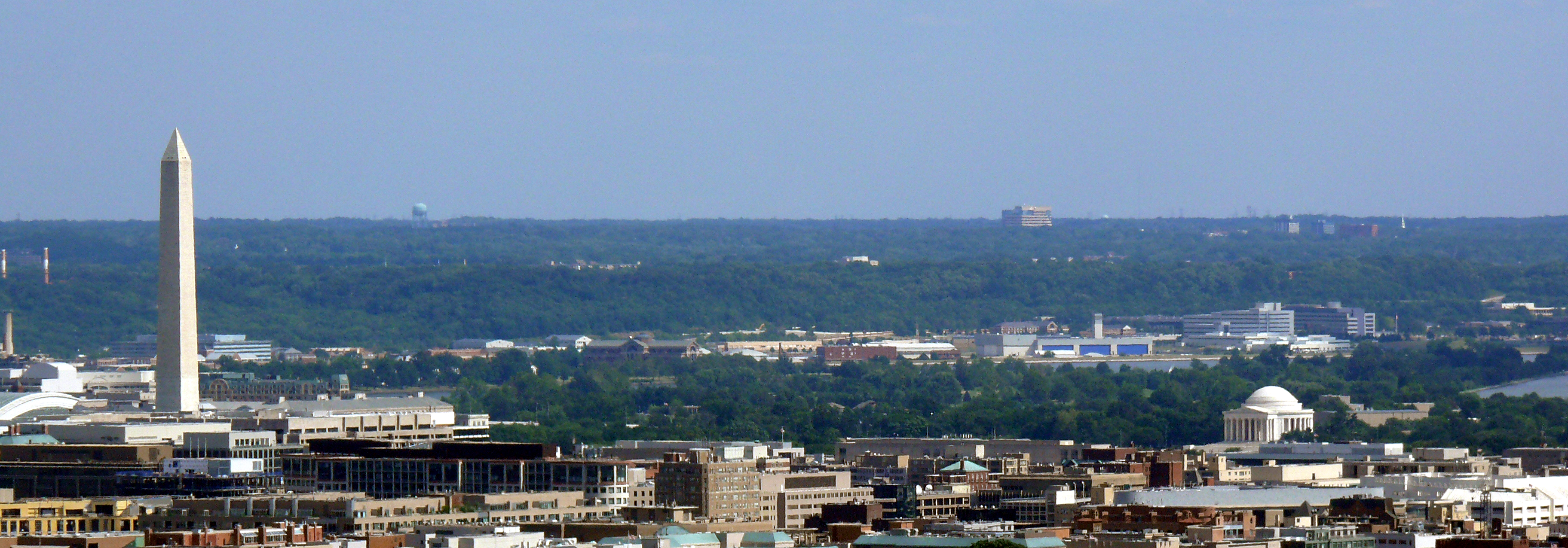 Washington dc skyline