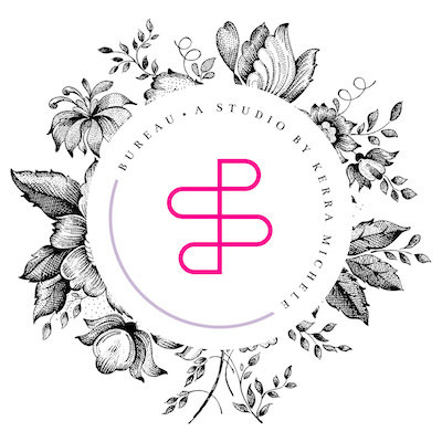 600x400 bureau logo version 8 round black floral pink icon small